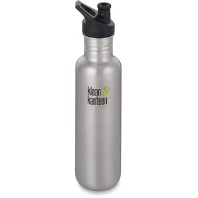 Klean Kanteen Classic Bottle Sport Cap 800ml Brushed Stainless